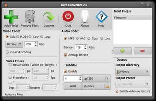 DivX converter Ubuntu