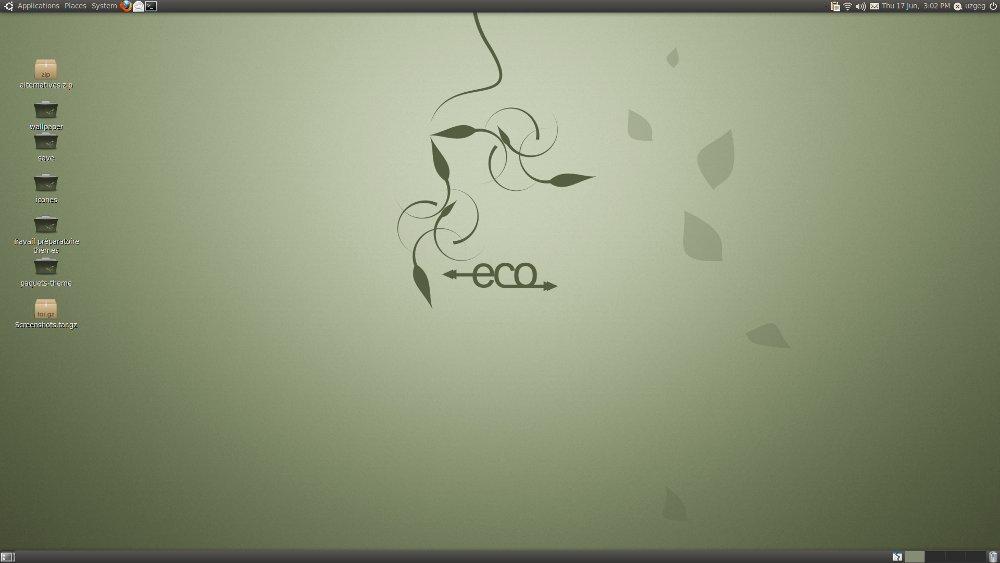 темы для Ubuntu - Eco