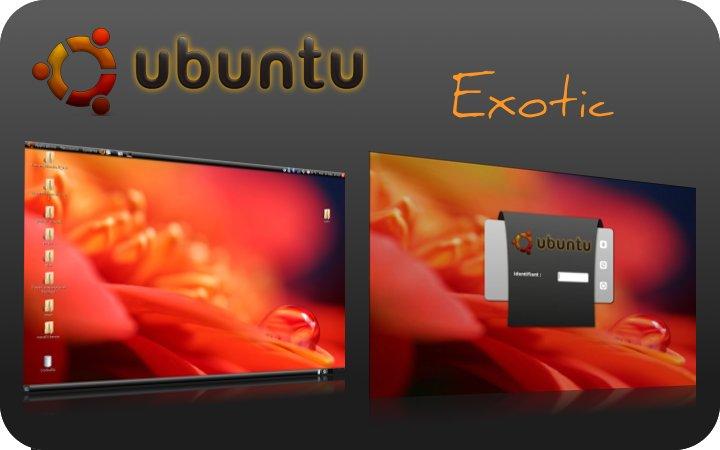 темы для Ubuntu - Exotic