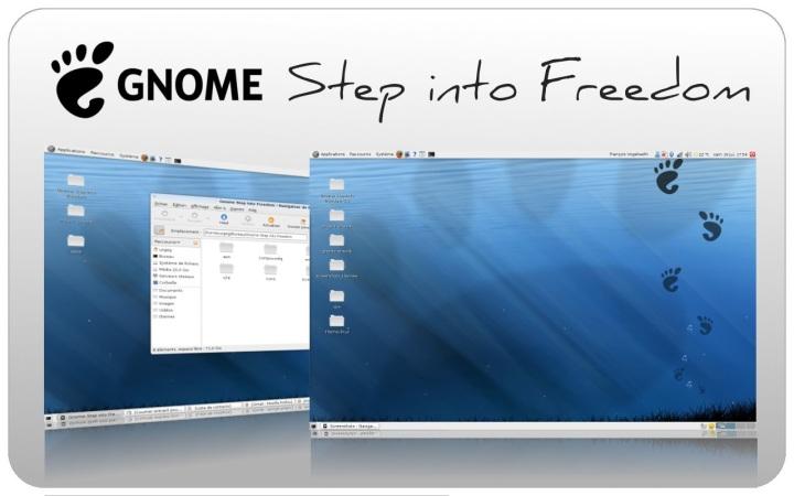 темы для Ubuntu - Step into Freedom