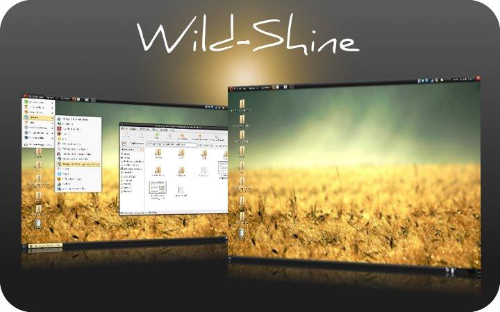 темы для Ubuntu - Wild-Shine