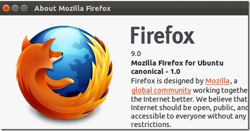 Установка Firefox 9 в Ubuntu 11.10 Oneiric Ocelot
