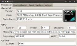 CPU-G - диагностика аппаратных средств в Ubuntu