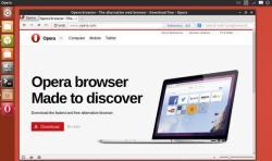 Установка Opera в Ubuntu 11.10